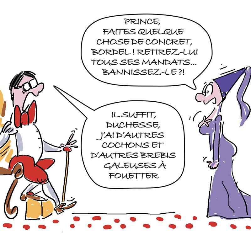 dessin humoristique Elio