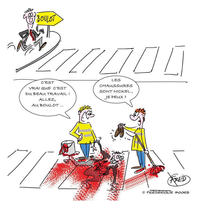 dessin humoristique sur les recherche d'emploi en France