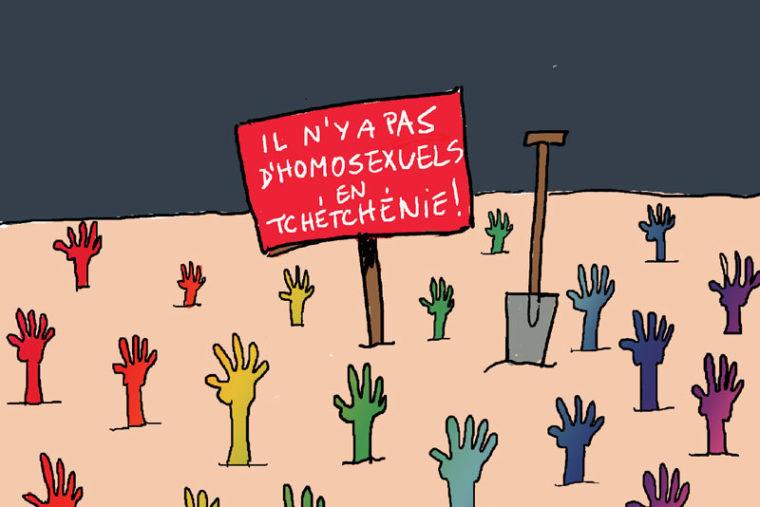 dessin à thème homophobie