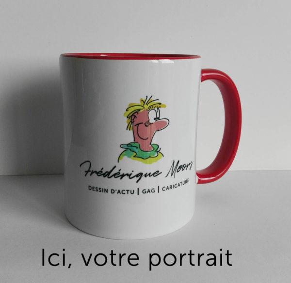 Mug drôle personnalisé avec votre caricature