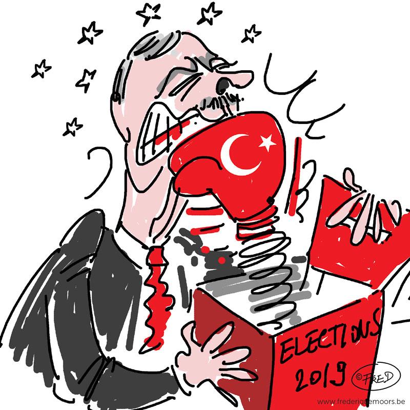 Défaite pour l'AKP