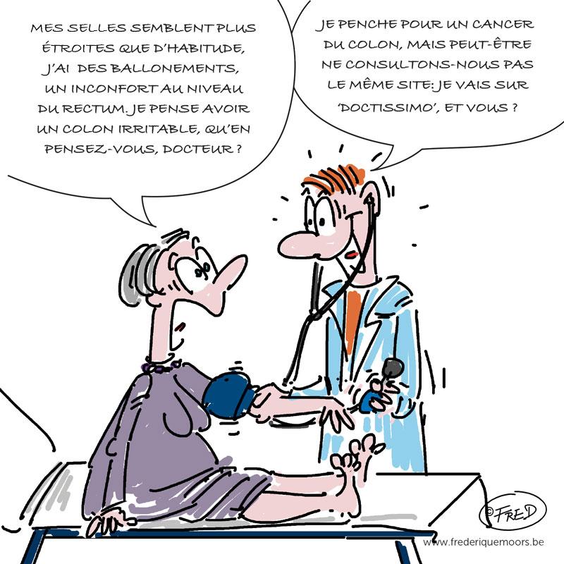 dessin humoristique sur les erreurs médicales