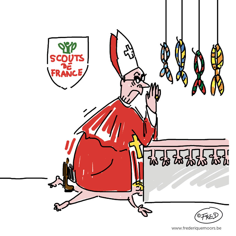 Le cardinal Barbarin