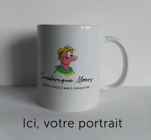 Extraordinaire Mug drôle - cadeau humoristique - Mug personnalisé avec dessin PZ-54