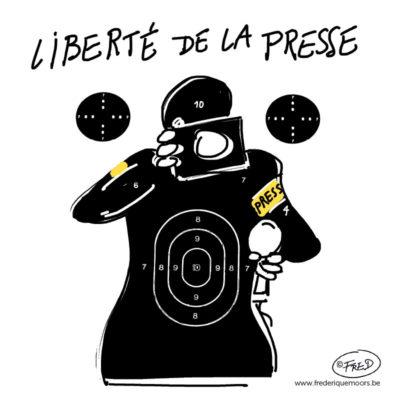 la presse prise pour cible