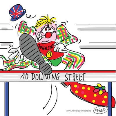 Le clown en route pour Downing Street
